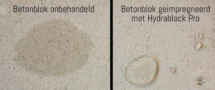 betonblokken waterdicht maken