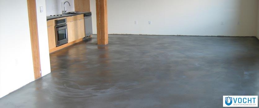 betonvloer waterdicht maken