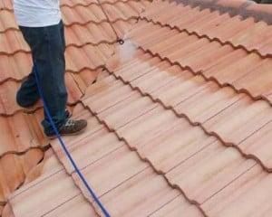 dakpannen impregneren reinigen beschermen