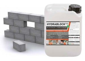 Hydrablock - impregneermiddel beton