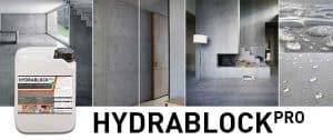 hydrablock pro - beton impregneermiddel