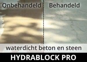 Hydrablock Pro - waterdicht beton steen voor na