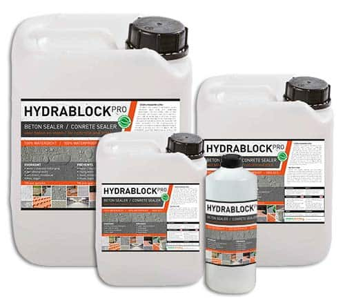Hydrablock Pro - impregneermiddel beton en steen waterdicht maken