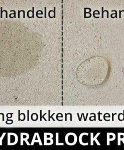 Hydrablock Pro - Ytong blokken waterdicht maken