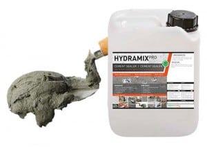 Hydramix - impregneermiddel cement mortel specie toepassingen
