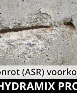 Hydramix Pro - betonrot ASR voorkomen