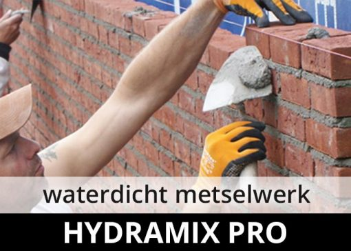 Hydramix Pro - waterdicht metselwerk