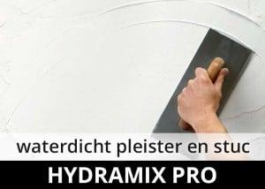 Hydramix Pro - waterdicht pleisterwerk