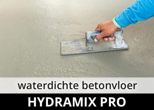 Hydramix Pro - waterdichte betonvloer cementdekvloer