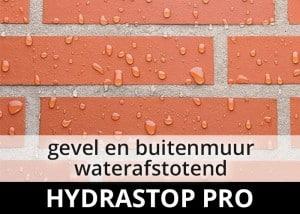 Hydrastop Pro impregneermiddel - buitenmuur impregneren