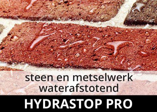 Hydrastop Pro impregneermiddel - steen en metselwerk waterdicht waterafstotend