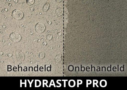 Hydrastop Pro impregneermiddel - waterdicht behandeld steen beton
