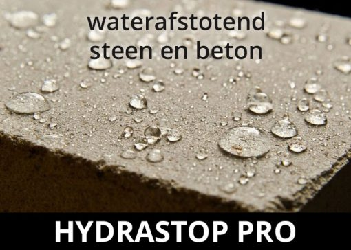 Hydrastop Pro impregneermiddel - waterdicht steen en beton