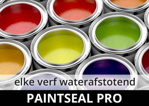 Paintseal Pro - elke waterbasis verf waterafstotend