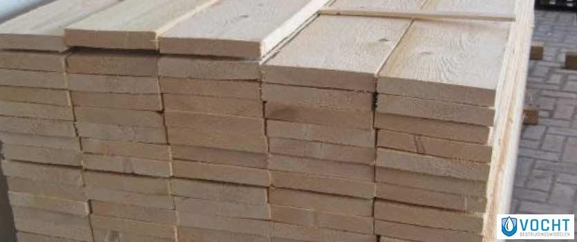 Bekend Steigerhout behandelen en impregneren - Vochtbestrijdingsmiddelen ED82
