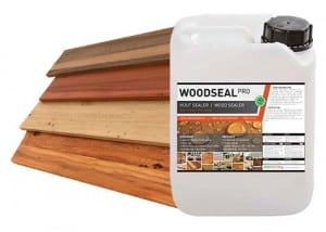 Woodseal impregneermiddel - hout toepassingen