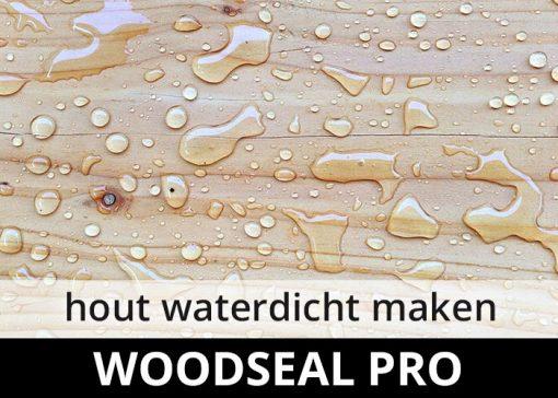 Woodseal Pro impregneermiddel - hout riet rotan waterdicht maken