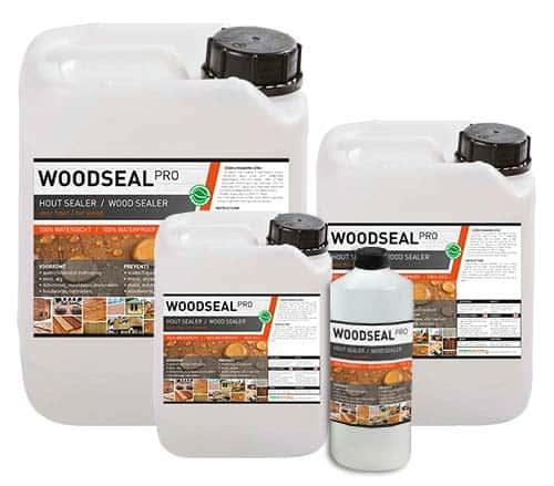 Woodseal Pro, hout impregneermiddel, hout waterdicht maken, hout waterafstotend maken, impregneermiddel hout